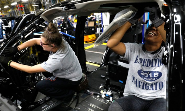 ford employees working for benefits