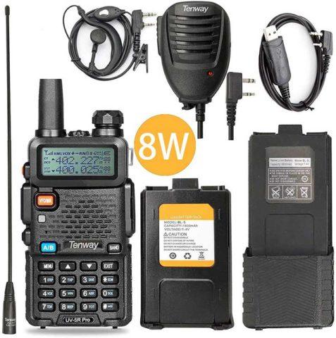 Tenway UV-5R Pro ham radio