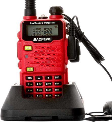 Baofeng Walkie Talkie UV-5R5 Ham Radio