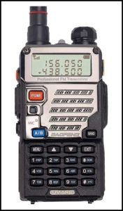 Baofeng UV-5RE+ ham radio