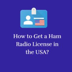 Ham Radio License in the USA 1