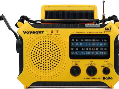 Kaito KA500 portable radio for indoors