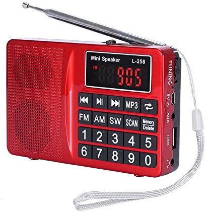LCJ Portable-am-fm-sw-radio