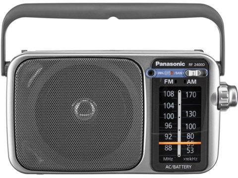 Panasonic RF-2400D – Good Old Analog portable radio