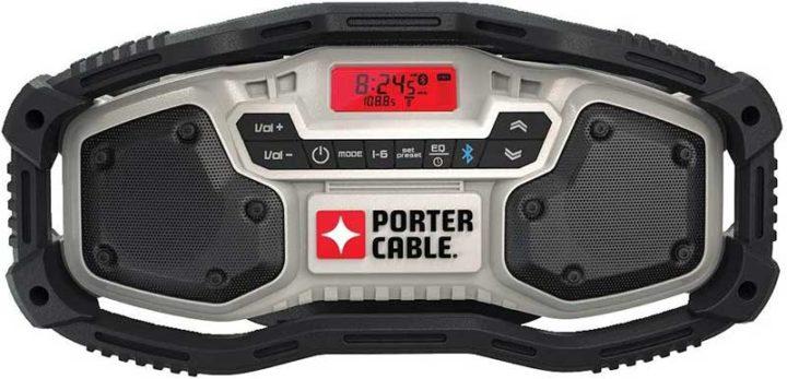 Porter-Cable PCC771B bluetooth jobsite radio