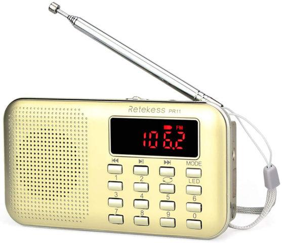 Retekess PR11 Portable Radio