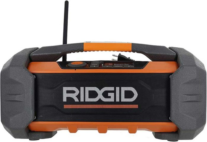 Ridgid R84087 jobsite radio with remote operation