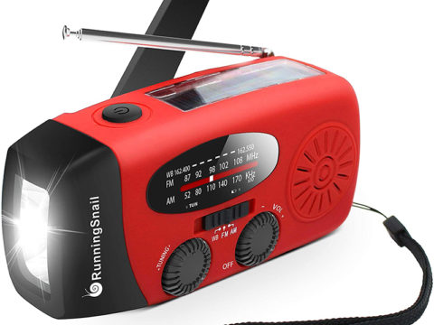 Running Snail MD-088s Portable AM Radio– Great for Outdoor Usage