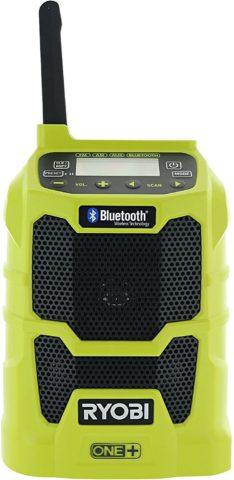 Ryobi P742 One+ radio for jobsite