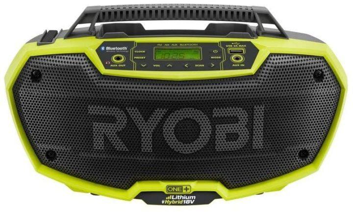 Ryobi P746 One+ portable jobsite radio