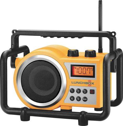 Sangean LB-100 rugged jobsite radio