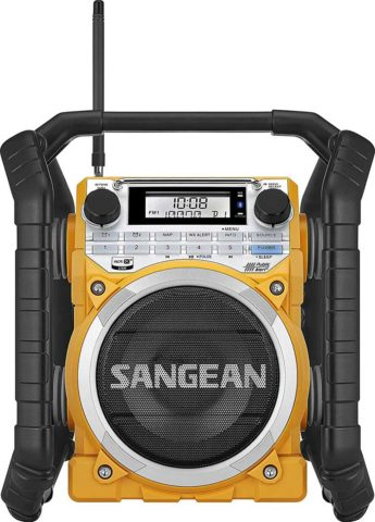 Sangean U4 jobsite radio with best audio quality