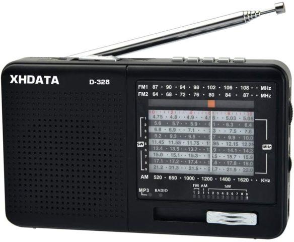 XHDATA D-328-am-fm-sw-radio