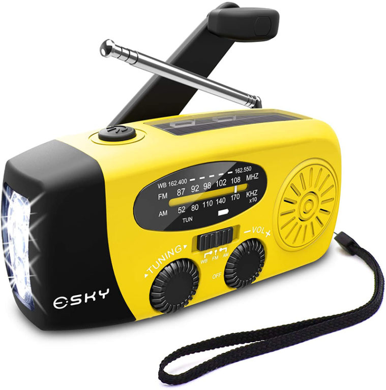 Esky ES-CR02 Weather Alert Radio Review