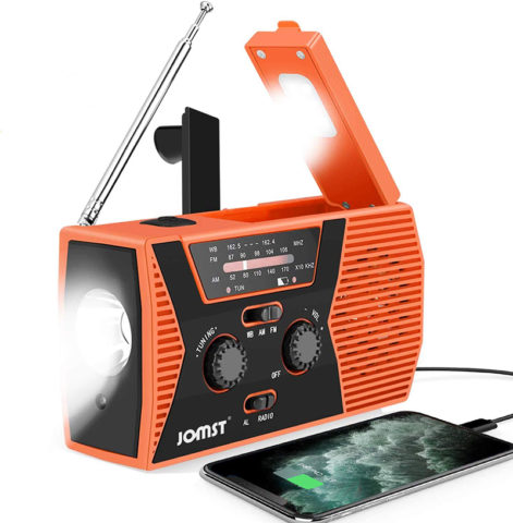 Jomst Emergency Weather Radio with NOA
