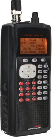 Whistler WS1040 Police Scanner