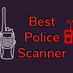 best portable police scanners
