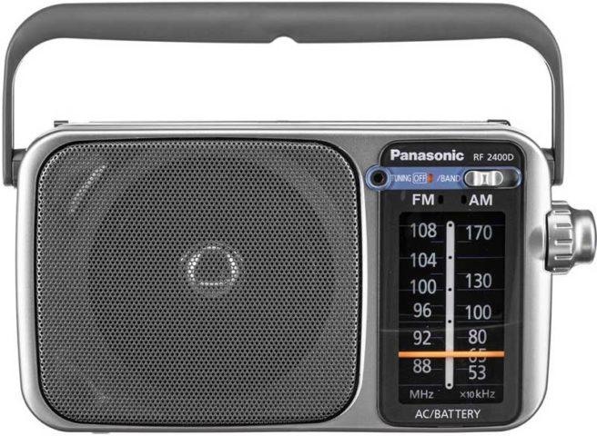 Panasonic RF-2400D tabletop radio