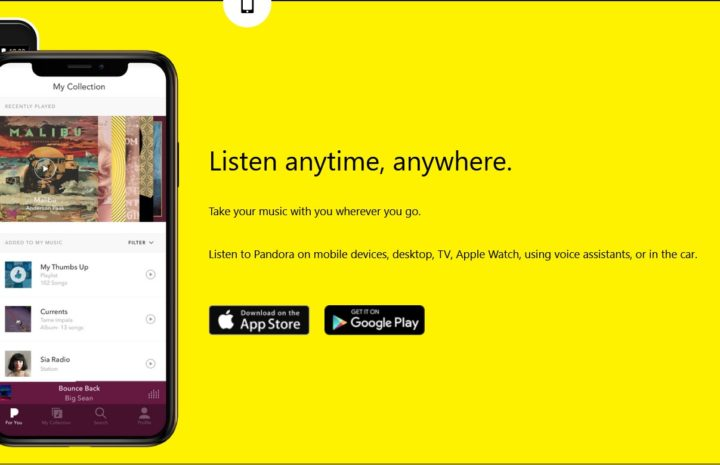 Pandora Internet Music Radio Station