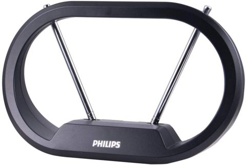 philips modern loop rabbit ear antenna