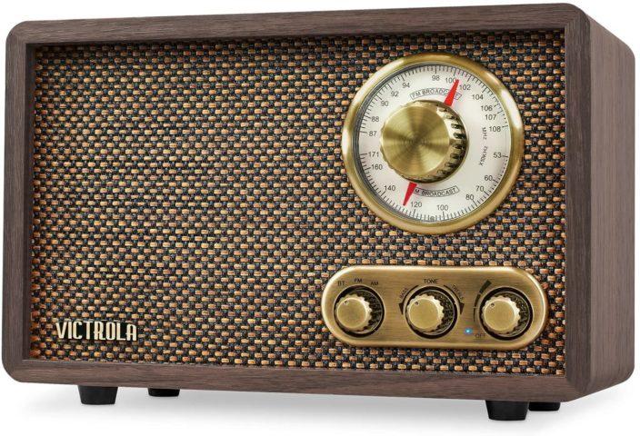 Victorla Retro Bluetooth AM/FM Radio