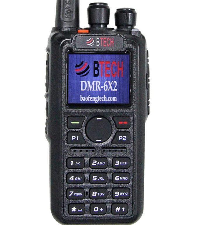 BTECH DMR-6X2 DMR Radio Review