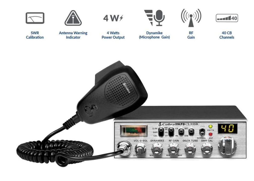 Cobra 29LTD Professional CB Radio Review