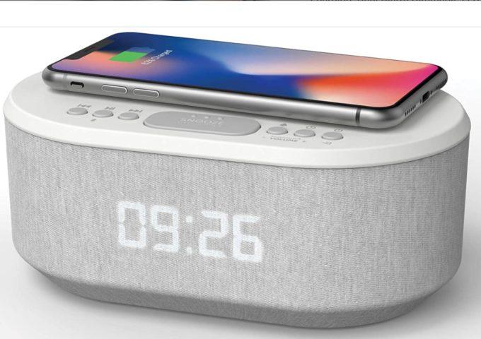 i-Box Dawn Dual Alarm Clock