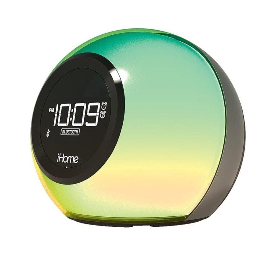 iHome iBT29BC Color Changing Digital Alarm Clock Radio